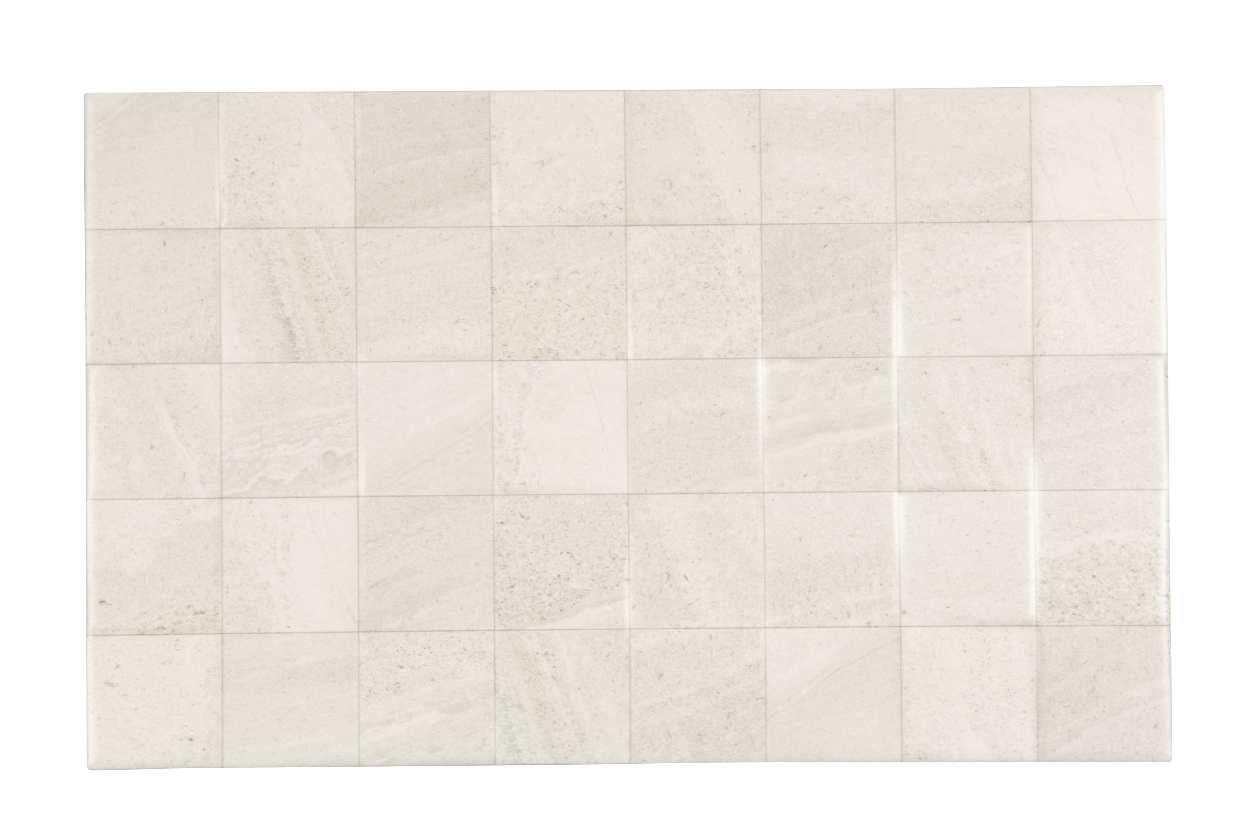 Fiji White Ceramic Wall Tile Pack Of 10 L 400mm W 250mm Fiji Diy And Crafts And Ceramic