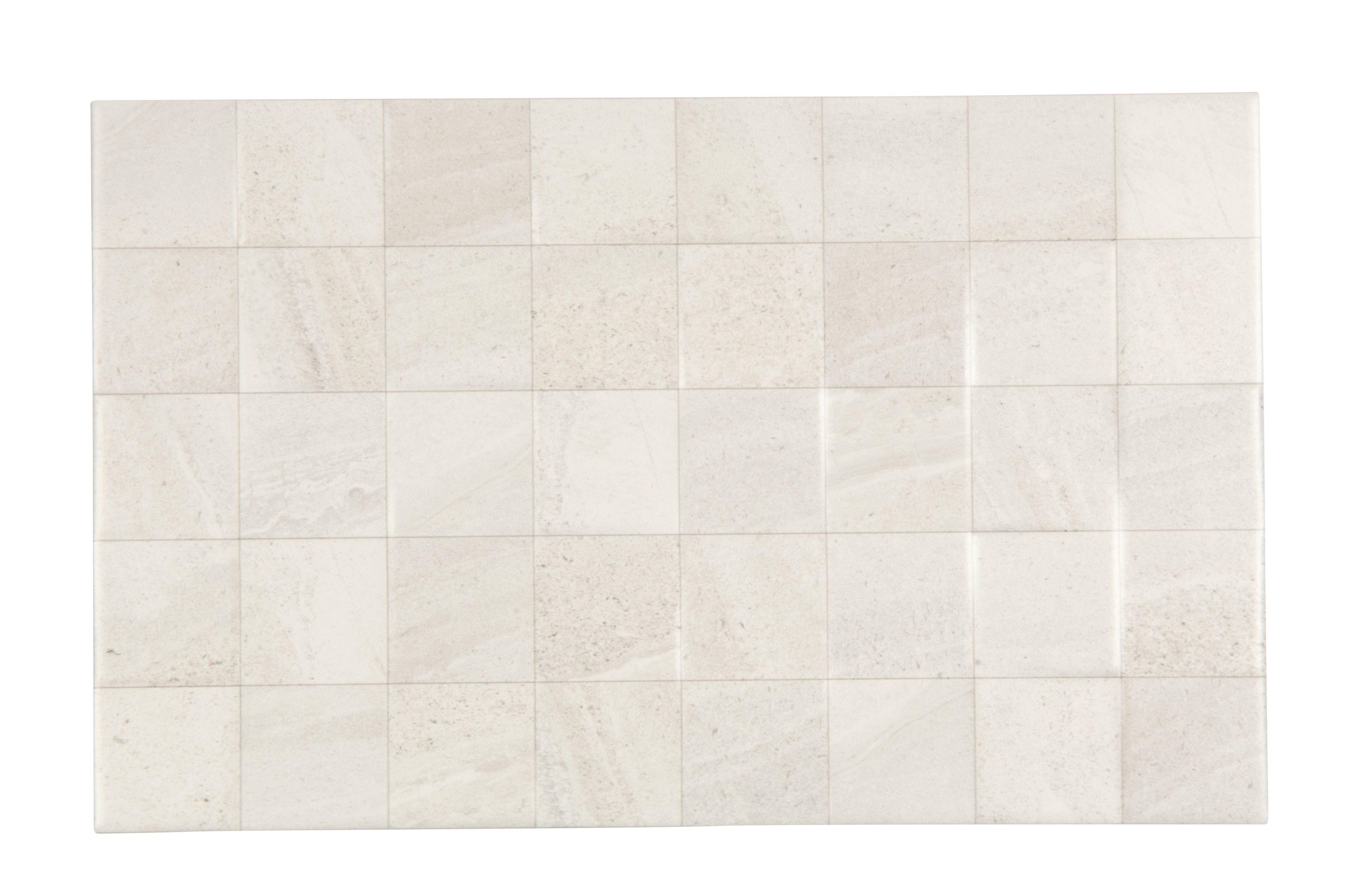 Fiji white stone effect ceramic wall tile pack of 10 l400mm w fiji white ceramic wall tile pack of 10 l400mm w dailygadgetfo Choice Image