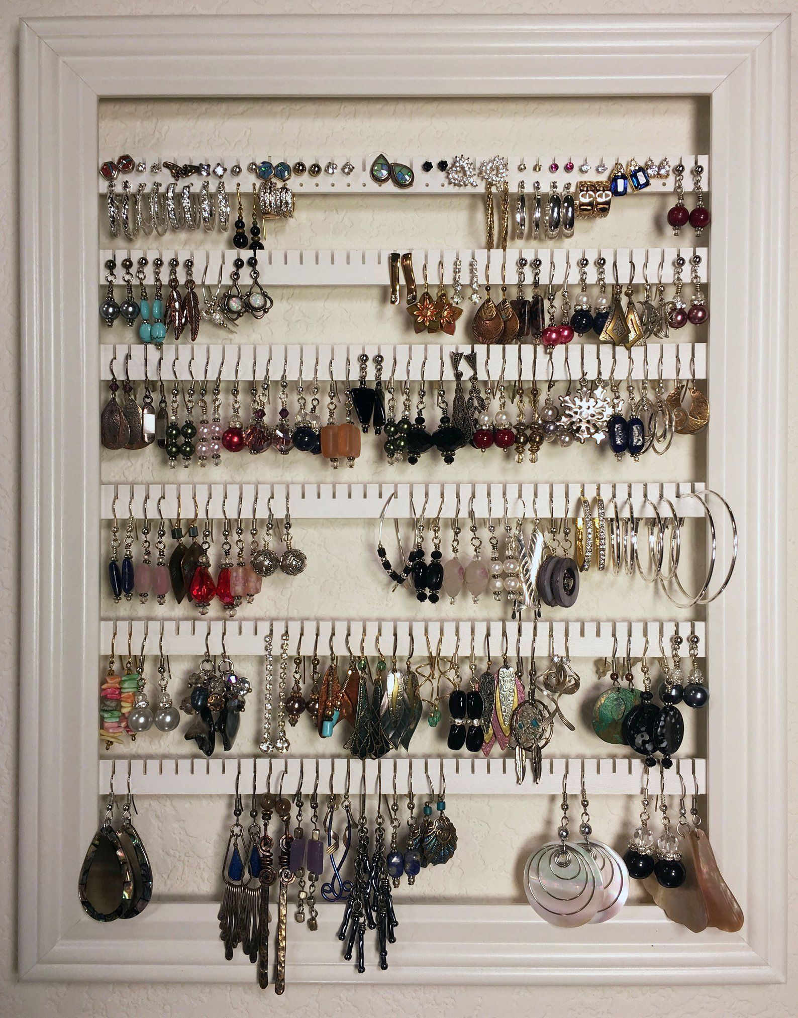 jewelry box earring stand jewelry storage jewelry rack earring rack earring jewelry box earring display wood earrings rack jewelry