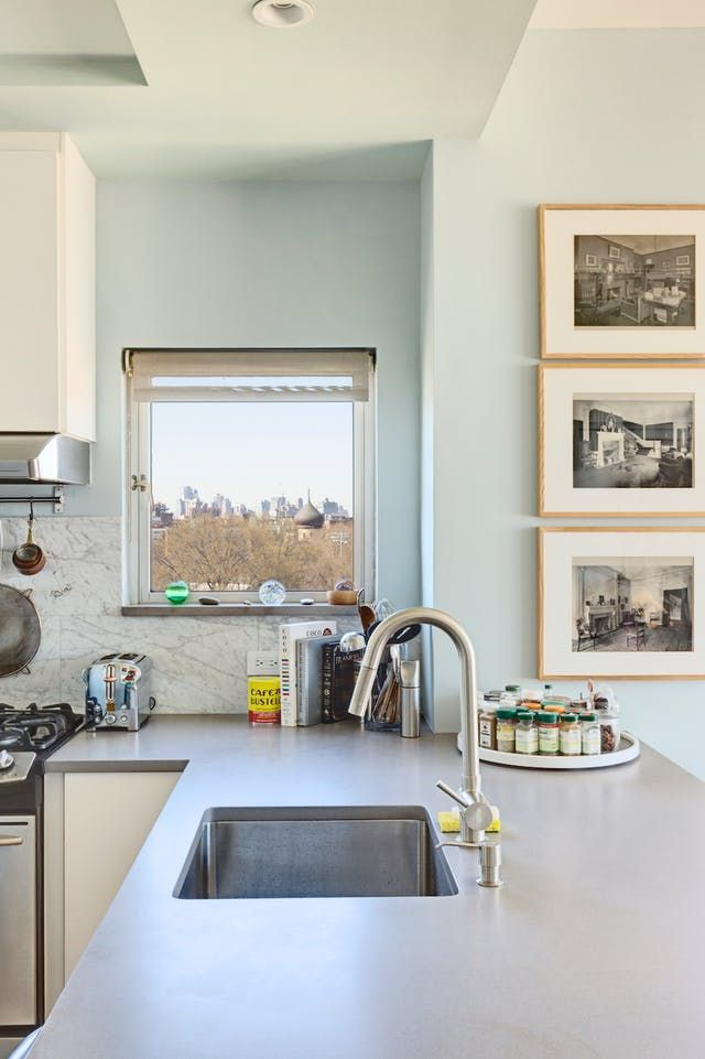 Before & After A Really Dark Brooklyn Kitchen Lightens Up Endearing Brooklyn Kitchen Design Design Inspiration