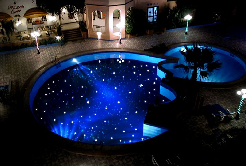 Star Lighting For The Pool Fiber Optics Pools Foster And