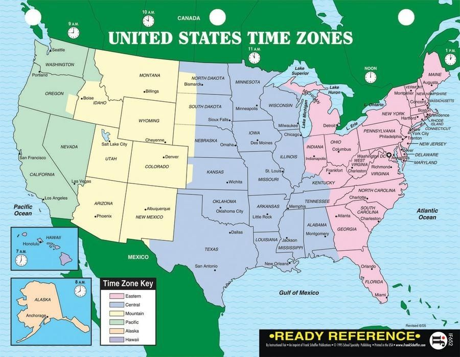 Maps Of Time Zones map of time zones usa geography blog outline maps ...