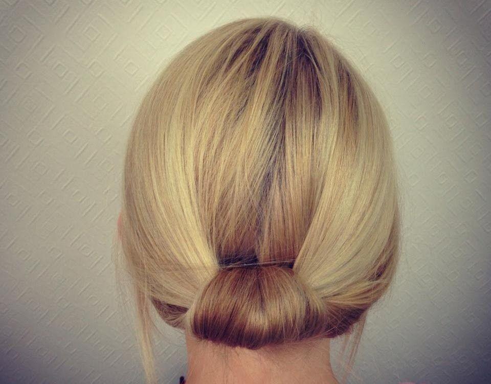 Simplebacktuckjpg Hair Pinterest Short Hair - Simple updos for short hair youtube