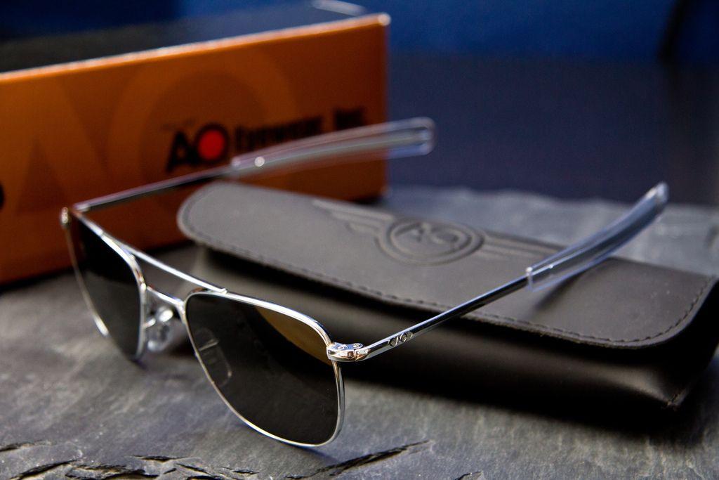 pilot aviator sunglasses  American Optical Original Pilot Sunglasses. AO made the original ...