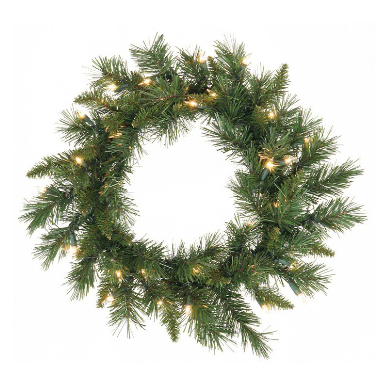 Vickerman Cheyenne Pine Pre-lit LED Wreath