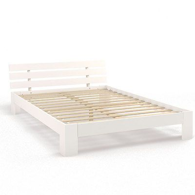 Details zu Doppelbett Holz 140 160 180x200cm Massivholz Bett inkl - dream massivholzbett ign design