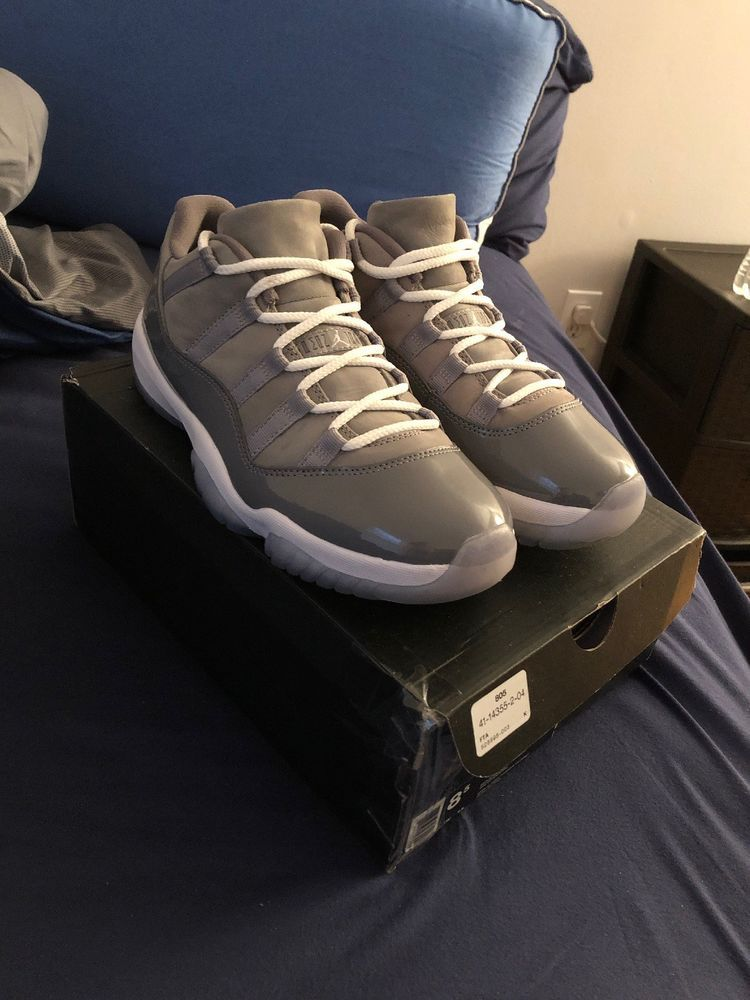 63653cfe1ba100 ... Athletic Shoes by Maryellen Wages. Nike Air Jordan Retro 11 XI Low Cool  Grey Size 8.5  fashion  clothing