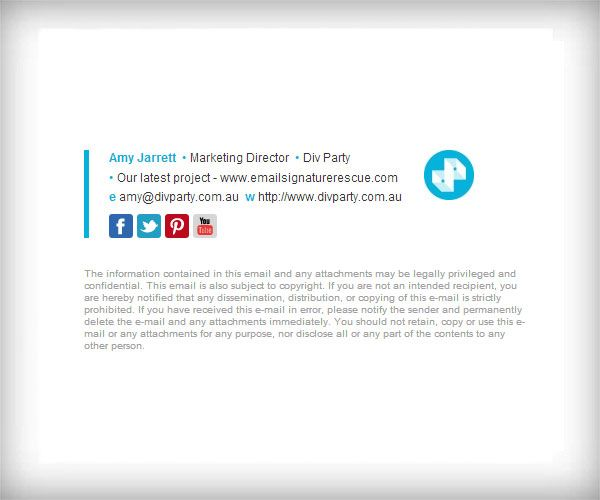Customer Examples - Email Signature Template with 50x50 Logo ...