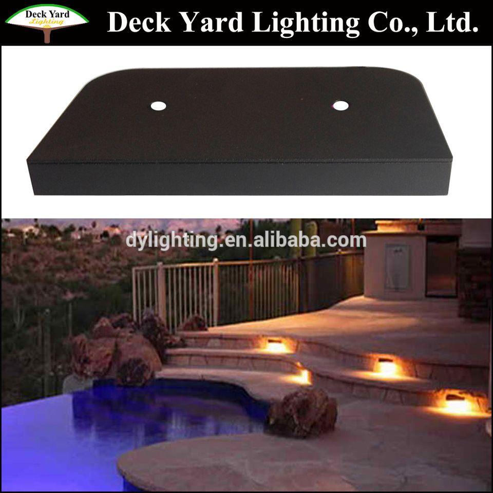 Led 12v Under Deck Rail Stone Cap Light Masonry Retaining Walls Light Low Voltage Led Decklites With 12v Led Deck Railings Retaining Wall Lighting Under Decks