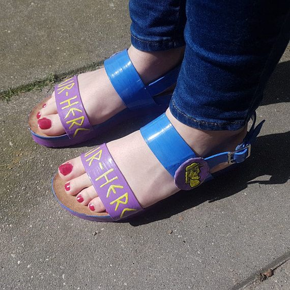 f2b422da1aff Hercules sandals Disney schoes Air-Herc cosplay THESE ARE SO COOL ...