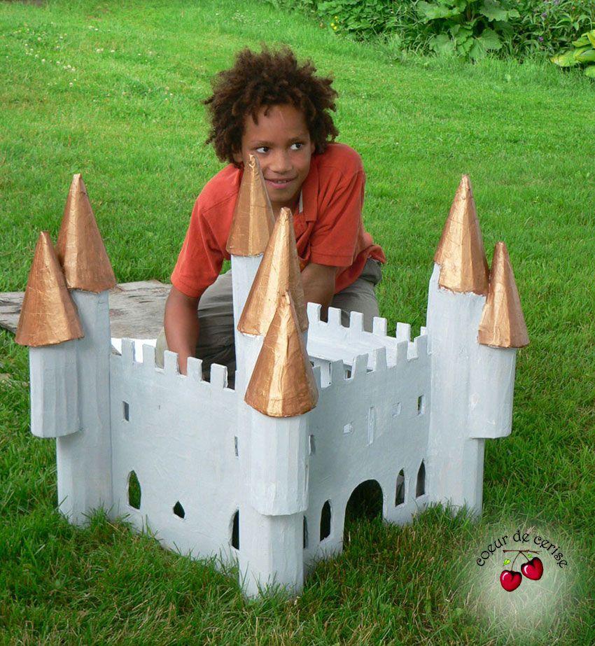 Cardboard #Castle Le #château
