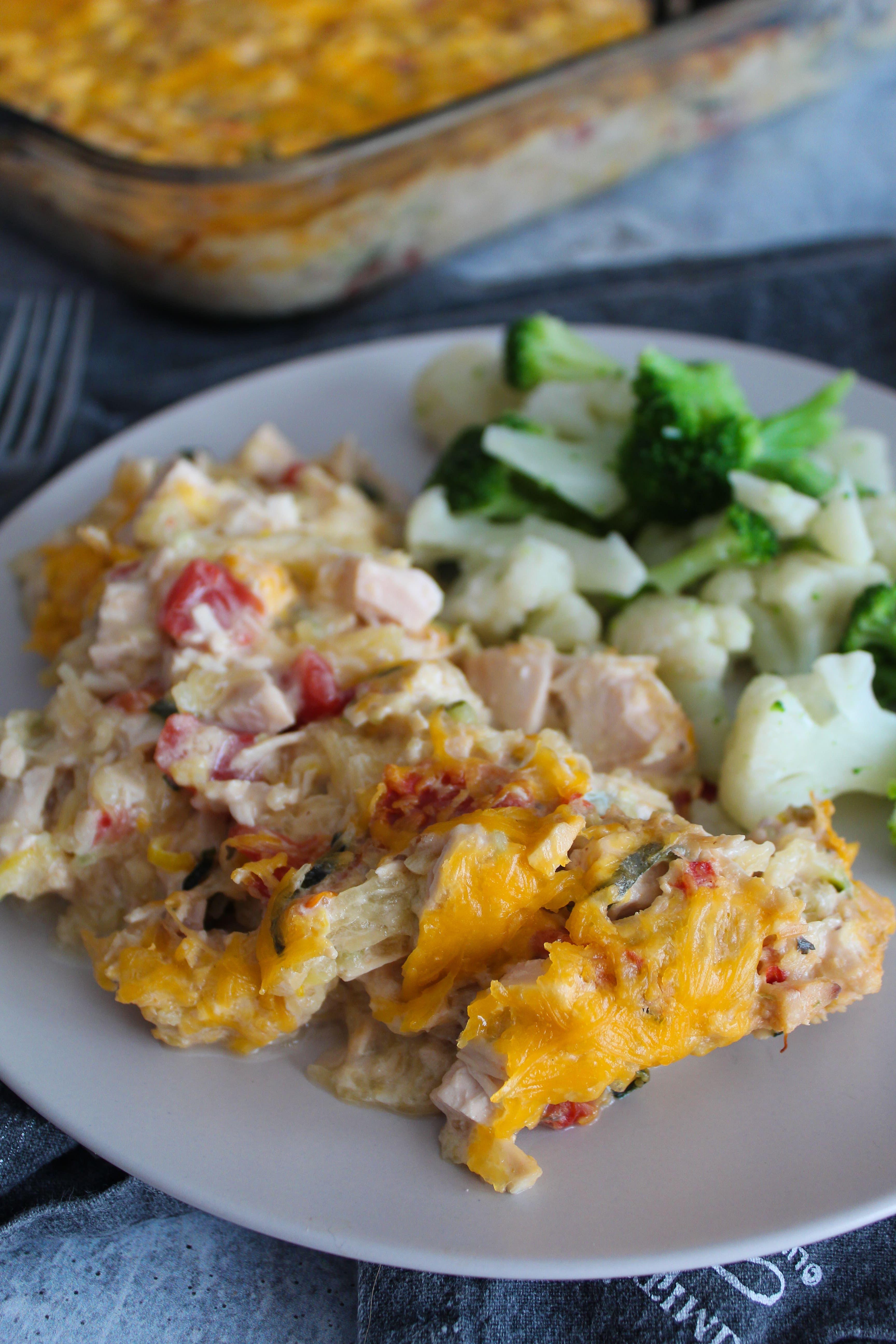 Keto Chicken Spaghetti Recipe Chicken Spaghetti Keto Chicken