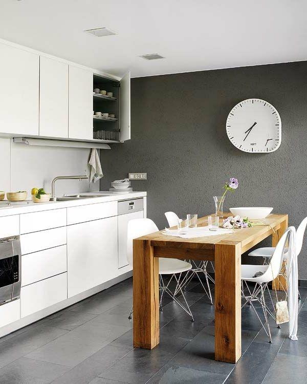 30 Wohnideen für Wandfarbe in Grautönen trendy