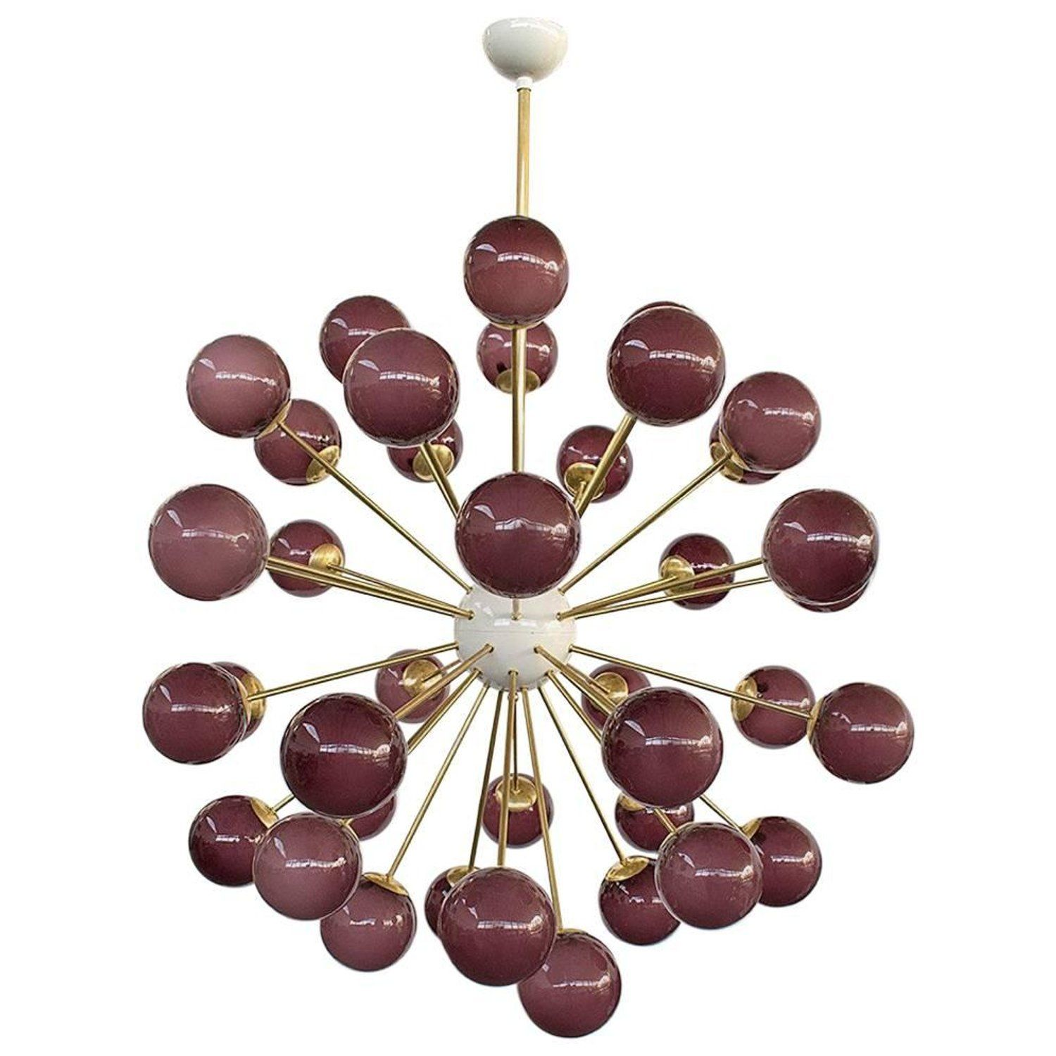 Nova purple sputnik my stdibs favorites pinterest chandeliers