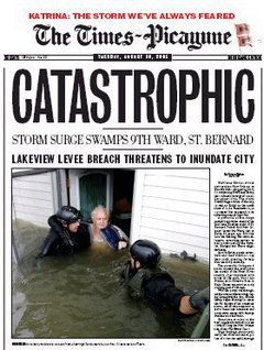 The Times-Picayune's Hurricane Katrina coverage among top ten works of journalism the past decade | Historical newspaper, Historical news, Vintage newspaper