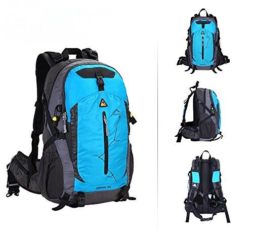 535b130e2521 Kimlee Water Resistant Outdoor Travel Backpack Hiking Daypack ...