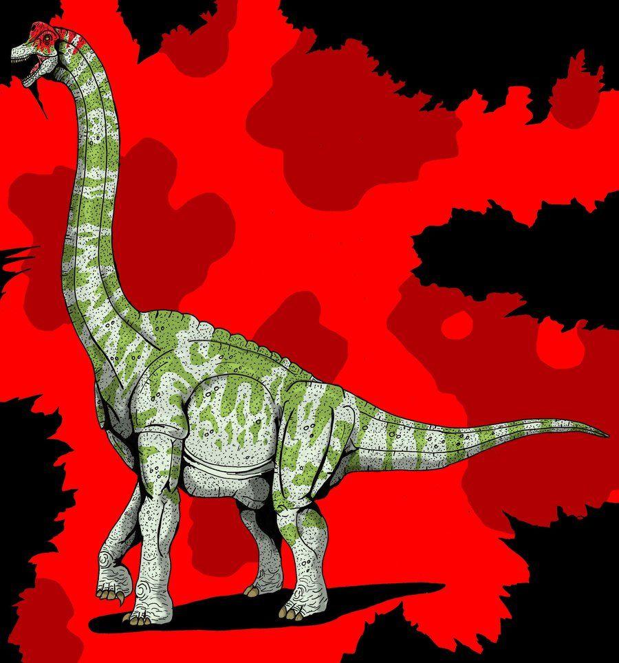 Jurassic park card 3 by chicagocubsfan24 on deviantart - Jurassic Park Brachiosaurus Updated 2014 By Hellraptor Deviantart Com On Deviantart