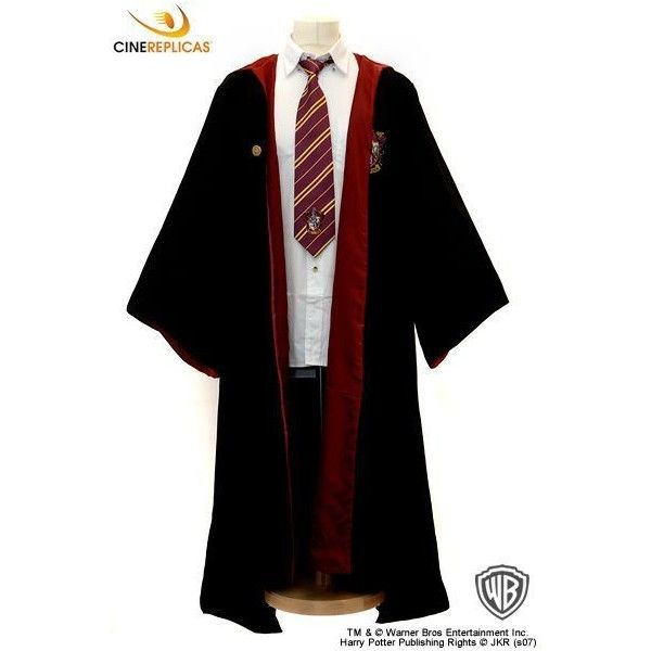 Gryffindor Robe ❤ liked on Polyvore featuring intimates, robes ...