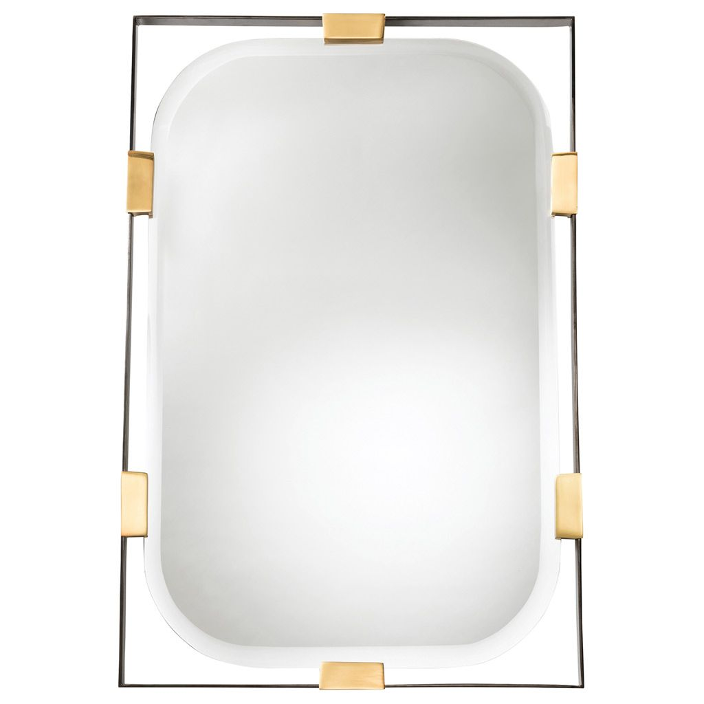 Jay Jeffers For Arteriors Frankie Rectangular Mirror Zincdoor Rectangular Mirror Mirror Wall Framed Mirror Wall
