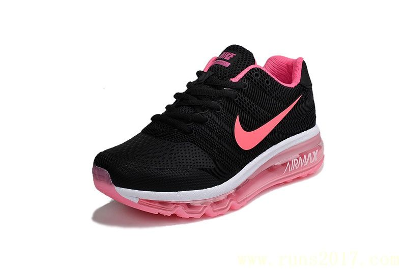 women black trainers nike air max