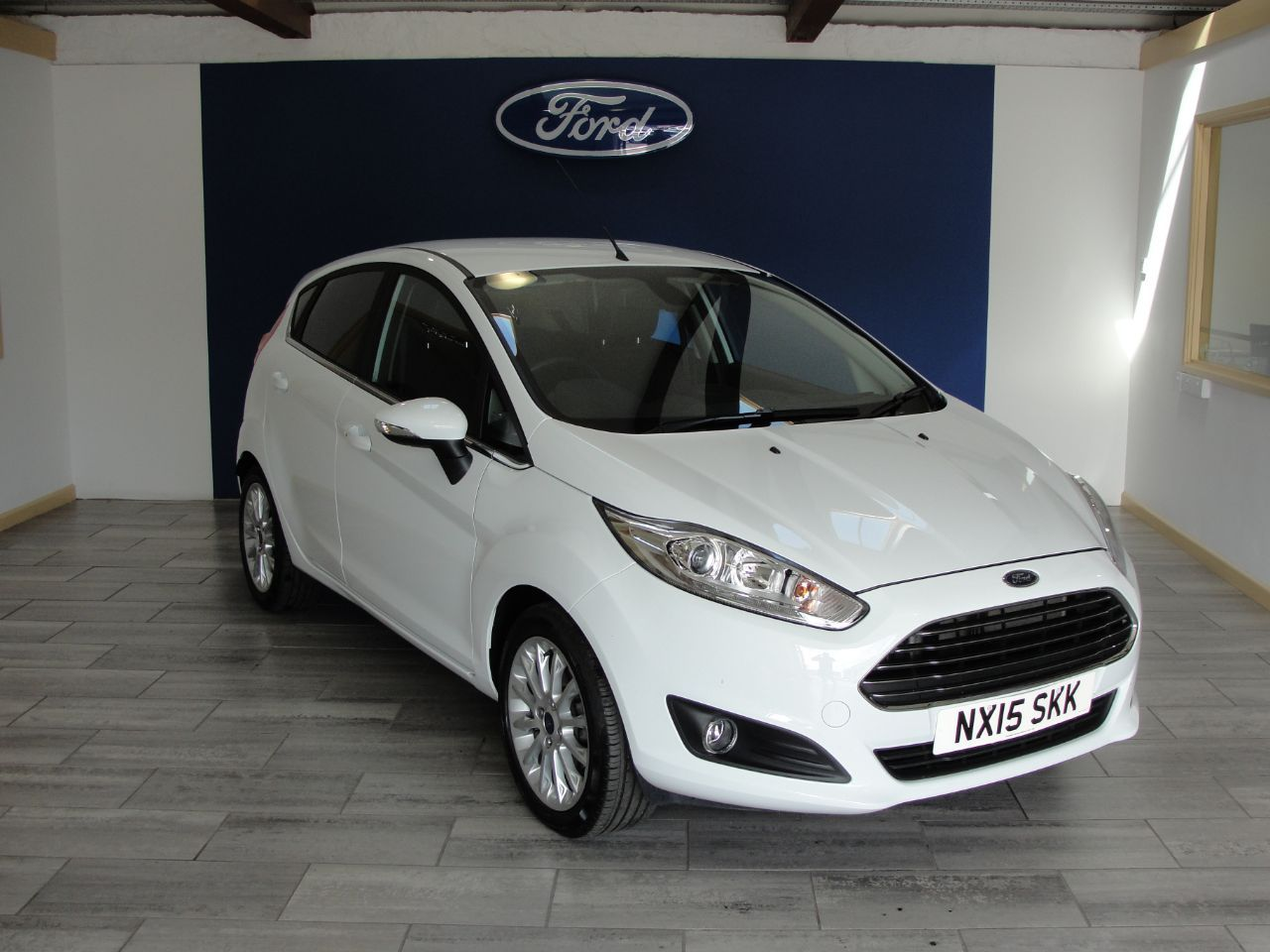 Ford Fiesta 1 0 Ecoboost 125 Titanium X 5dr Hatchback Petrol White