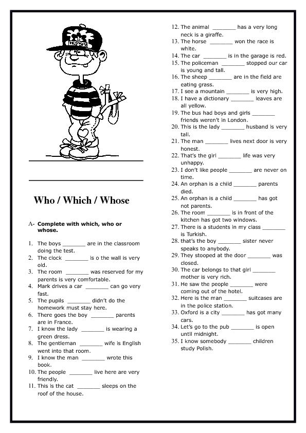relative pronouns elementary worksheet teaching relative pronouns english grammar. Black Bedroom Furniture Sets. Home Design Ideas