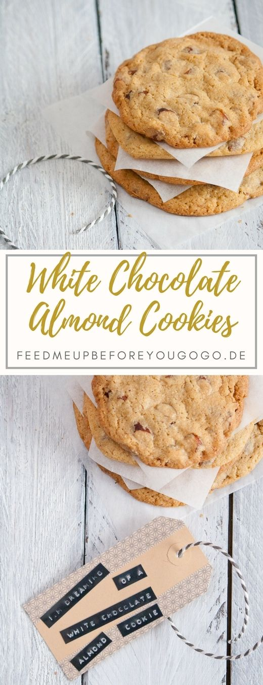 Photo of White Chocolate Almond Cookies