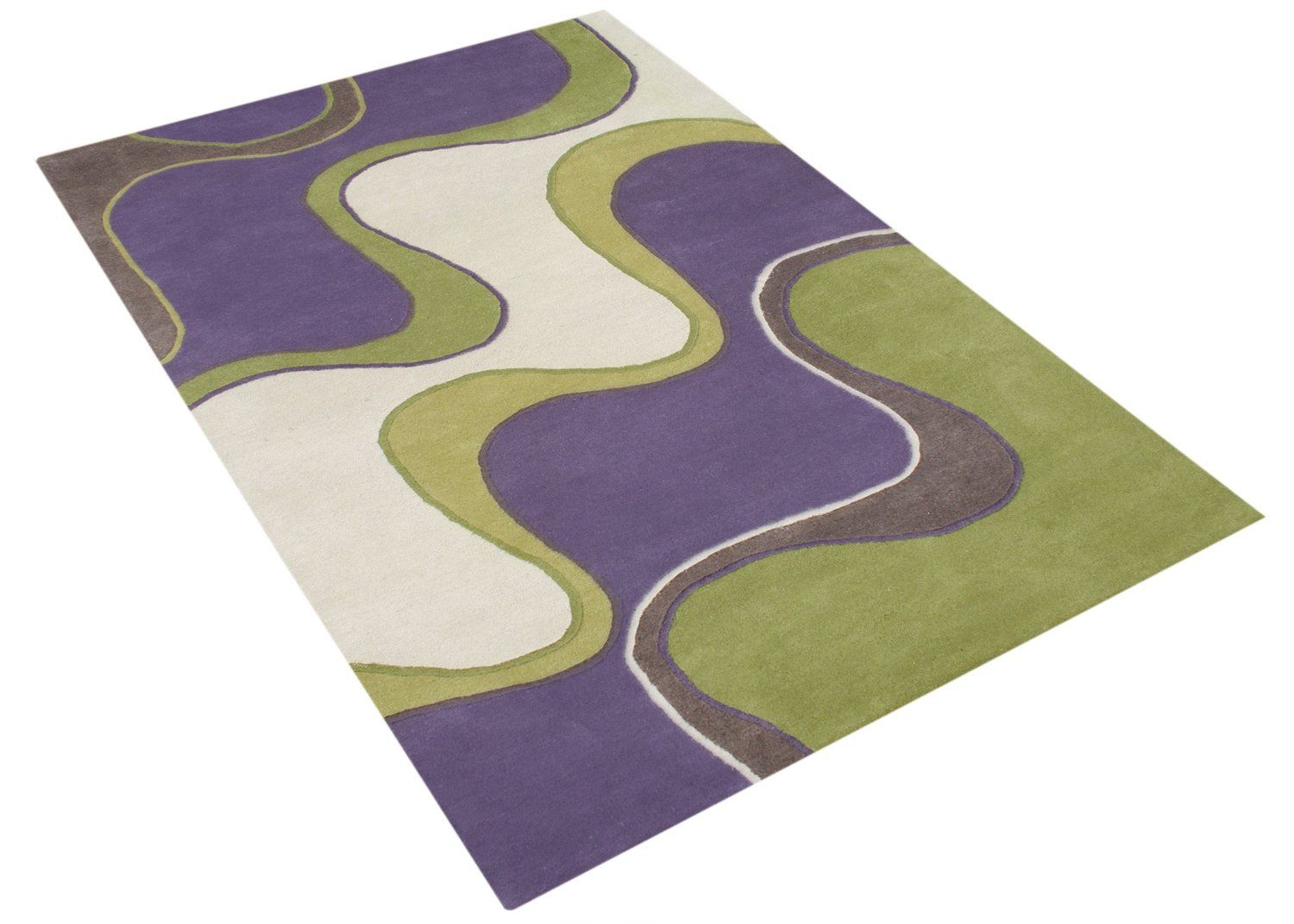 Check Out This Por Collection Of Funky Purple And Green Area Rugs Combine The Wisdom