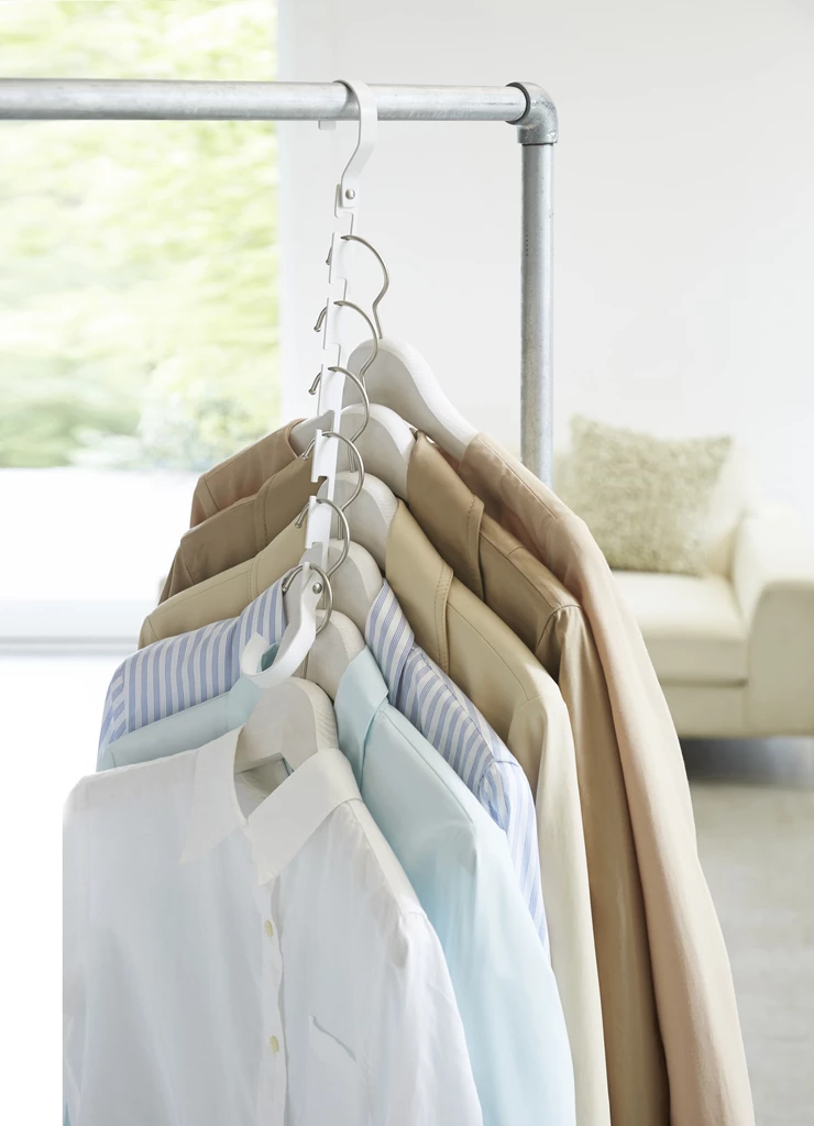 Smart Space Saver Closet Hanger in Various Colors