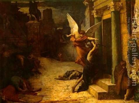 Image result for Passover angel of death pictures