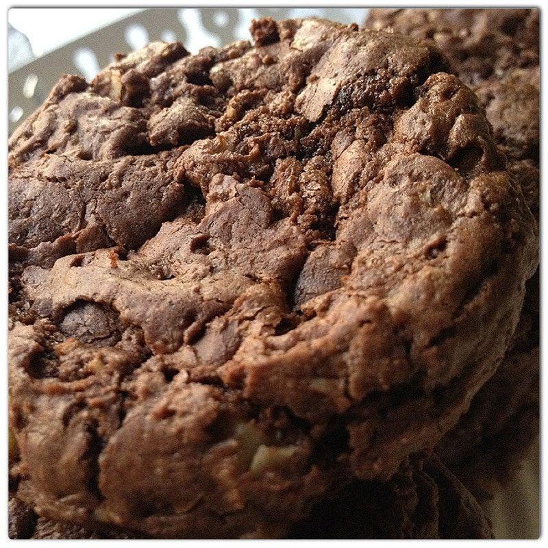 كوكيز على اصووووله بخليط كيك بيتي كروك حلويات Food Desserts Cookies
