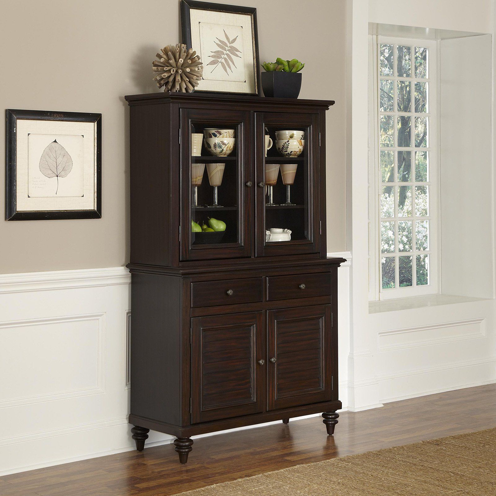 Have to have it Home Styles Bermuda Espresso China Cabinet