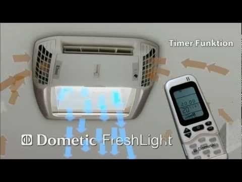 Dometic Freshlight Sky Light And Air Conditioner Unit Youtube Air Conditioner Units The Unit Roof Light