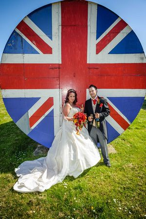 Sarah Steve East Midlands Aircraft Museum Derby Wedding Photographer Simon Dewey