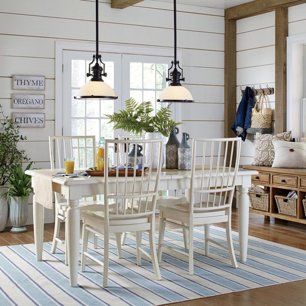 Joshua Extendable Dining Table Overhead LightingExtra RoomsBirch