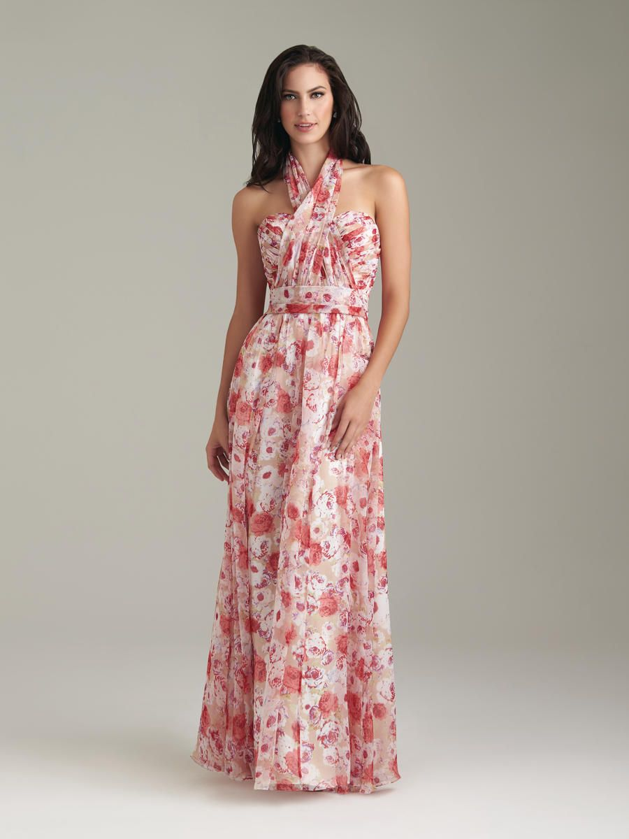Allure Bridesmaids - Reversible Print Dress - Available at Party ...