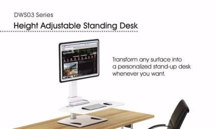 Display Adjustable Standing Desk 13