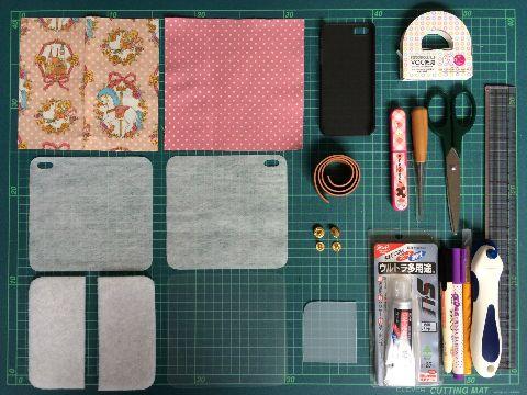 手作り スマホケース 手帳型 スマホケース 手作り Iphoneケース 作り方