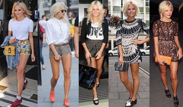 Pixie Lott #brogues | Stylish