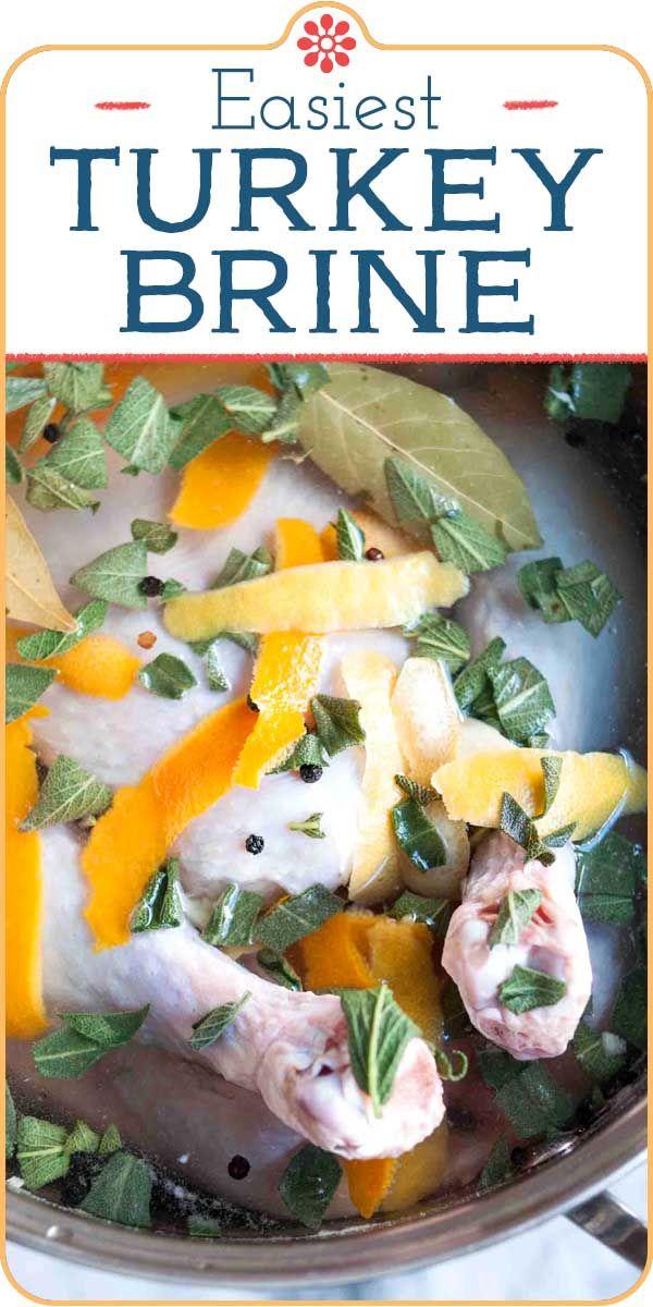 Easiest Turkey Brine Recipe | SimplyRecipes.com