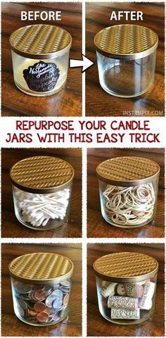 Photo of Repurpose Your Candle Jars With This Easy Trick