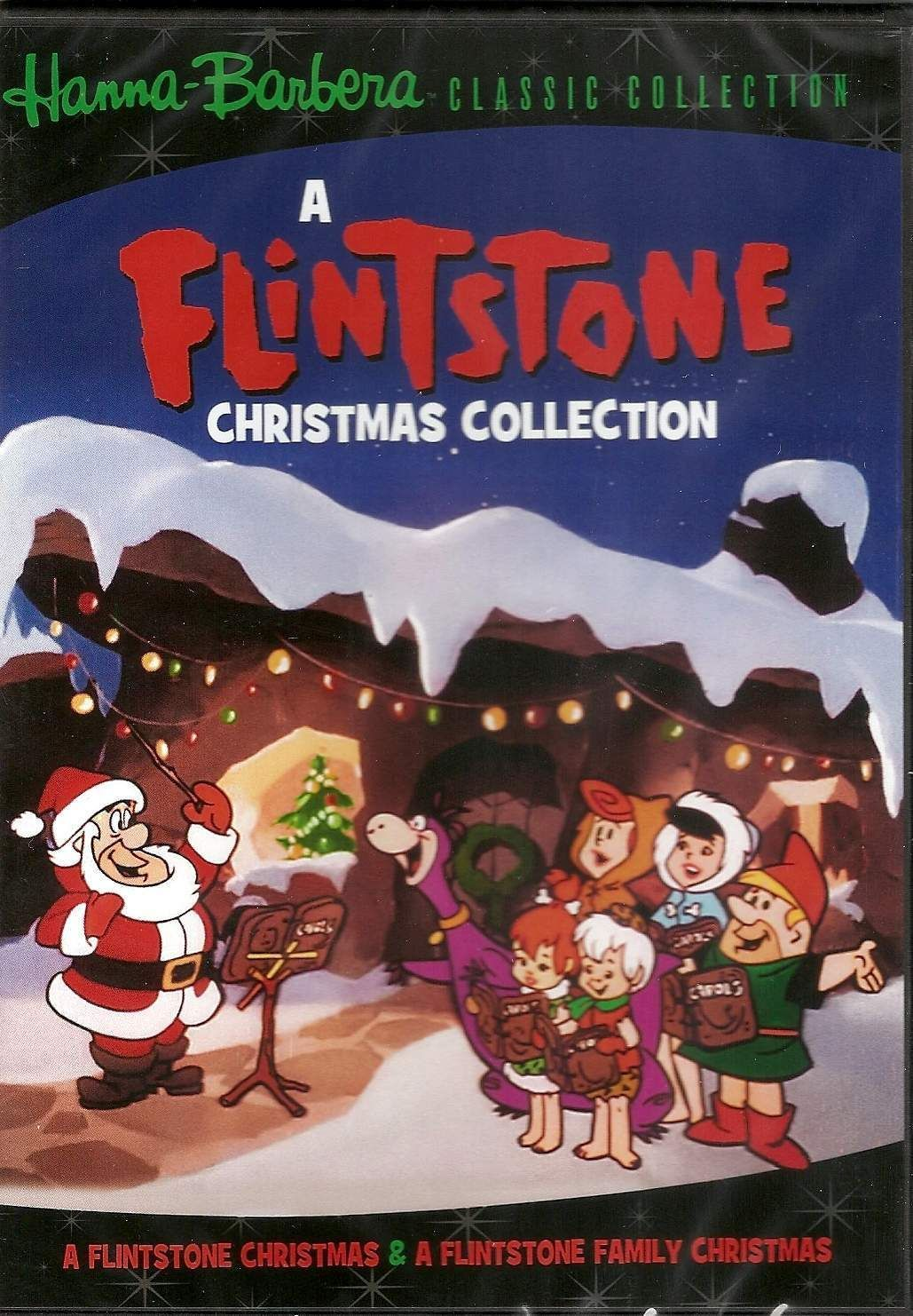 Hanna Barbera Christmas Dvd.Hanna Barbera A Flintstone Christmas Collection A
