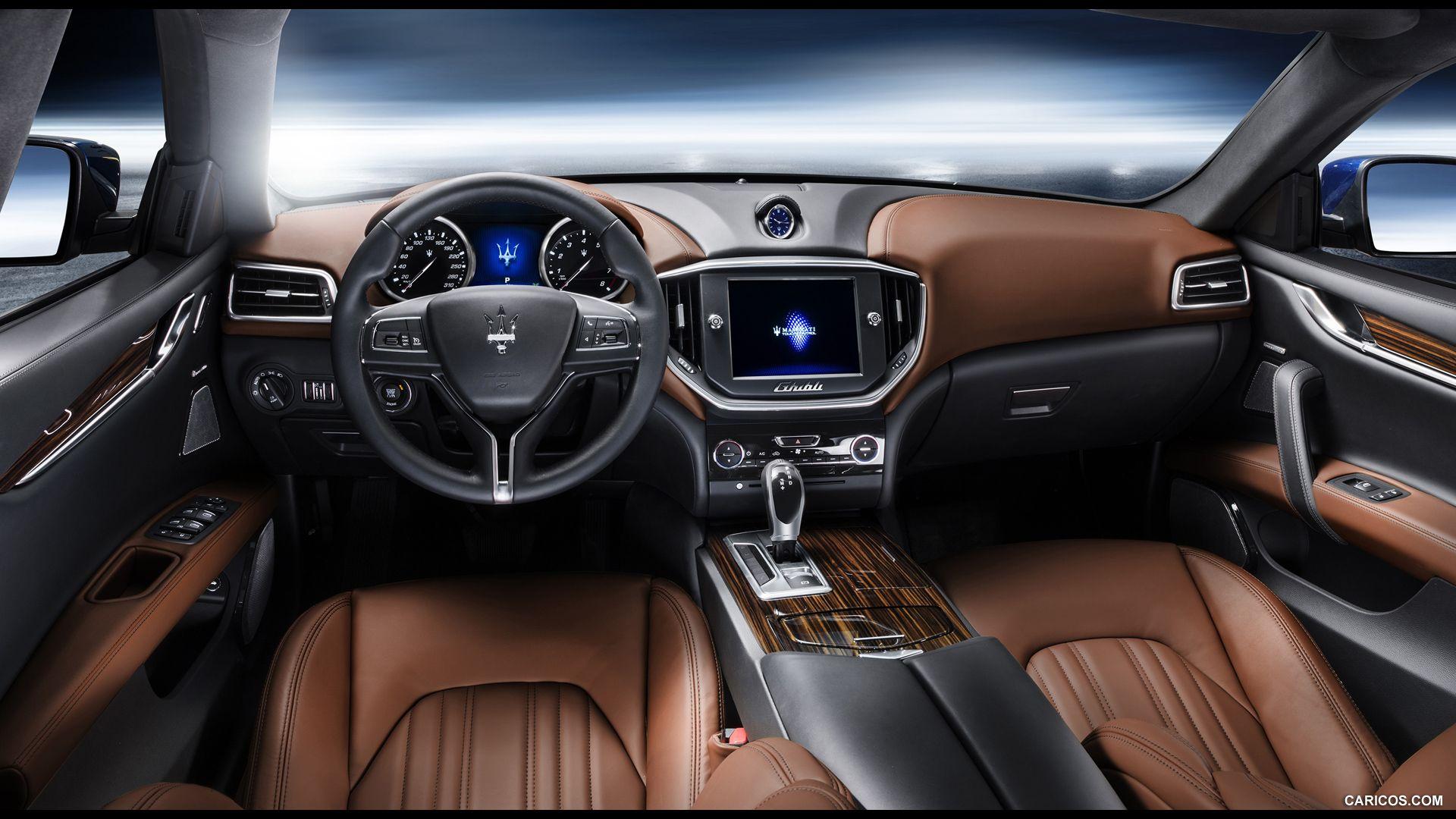 Maserati interior colors