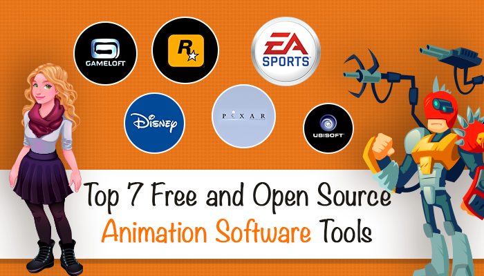 Top 7 Free and Open Source Animation Software Tools in