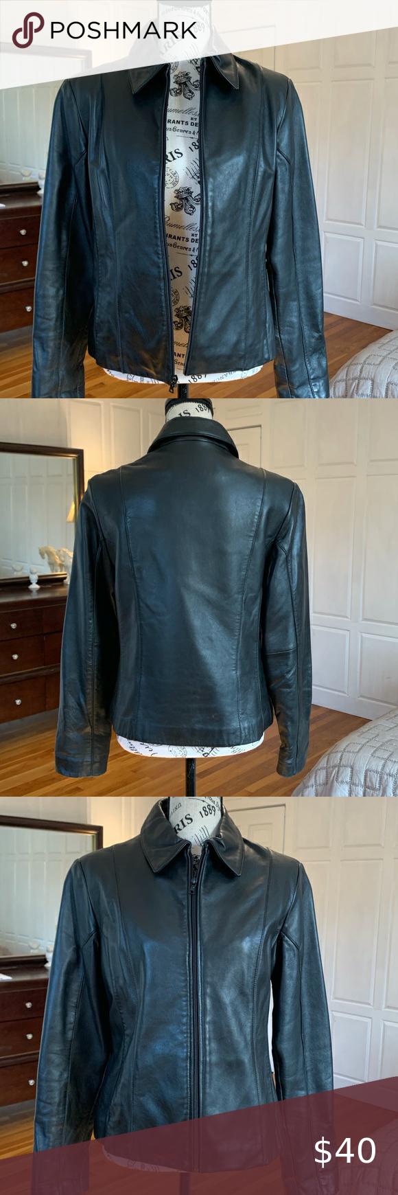 Jones New York Leather Jacket Black Leather Jacket Black Leather Jacket Jones New York [ 1740 x 580 Pixel ]