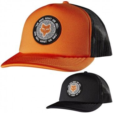 c596b835d23a1 Fox Racing Mens Race What We Sell Casual Snapback Cap MX Motocross Trucker  Hat