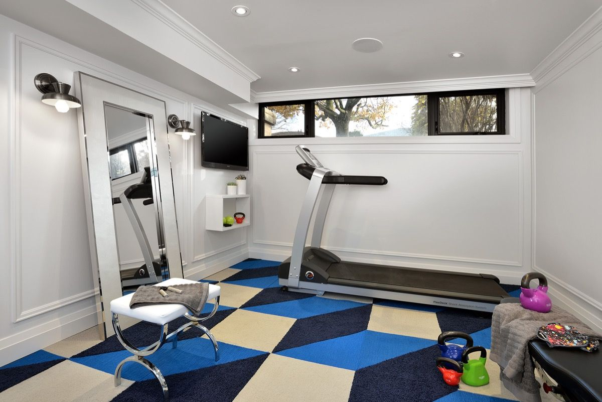Fantastic Spaces From the One Room Challenge | Gym interior, Gym ...
