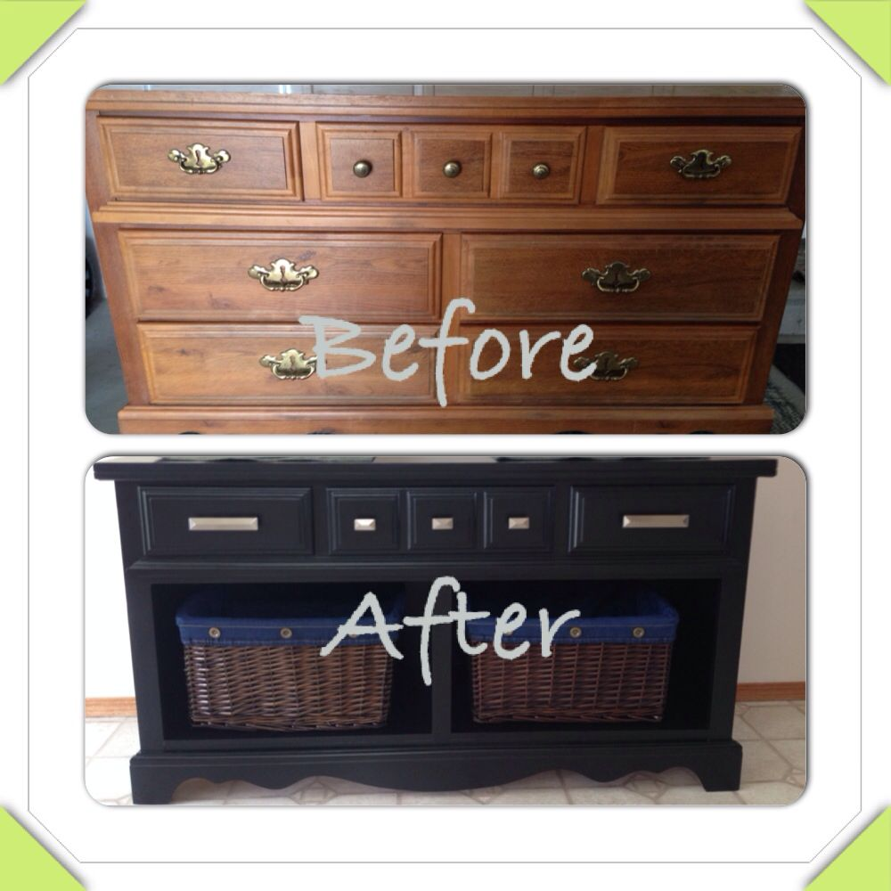 Incredible Old Dresser Turned Into Buffet Side Table Diy Projects Download Free Architecture Designs Terchretrmadebymaigaardcom