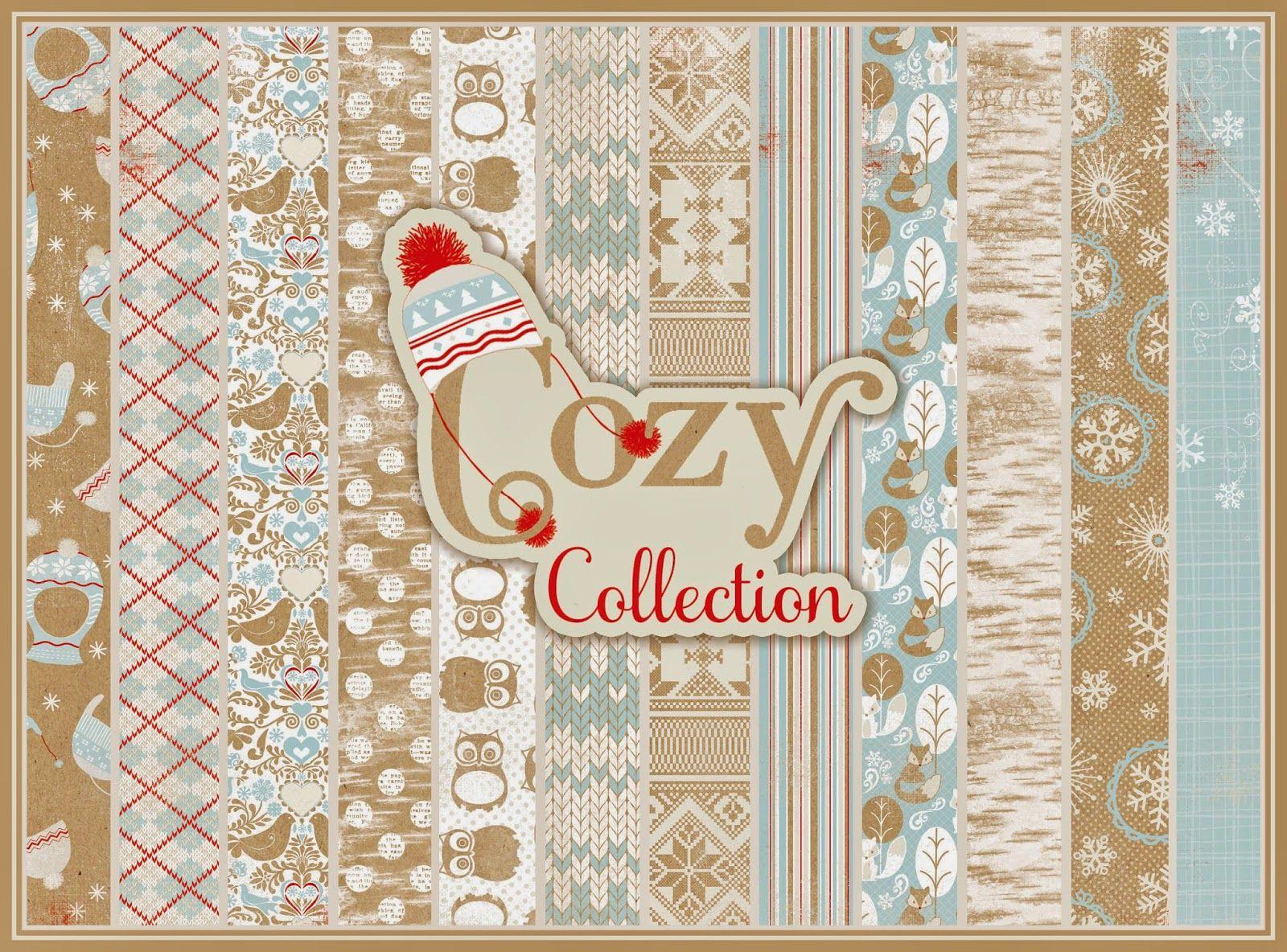 """Authentique Paper: Announcing: """"Cozy"""" by Authentique Paper"""