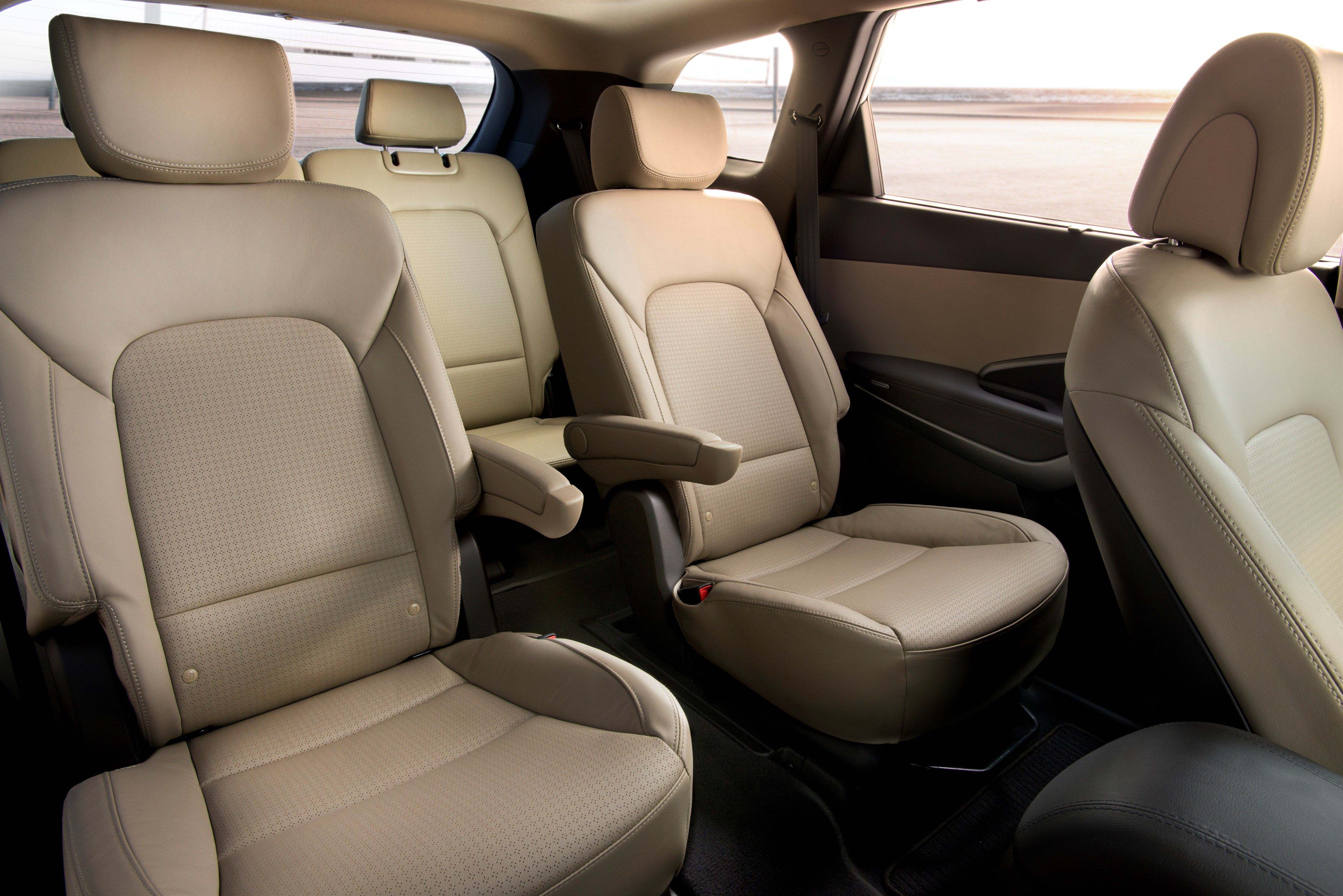 Captain Chairs Suv Victorian Style Uk 2014 Hyundai Santa Fe Limited With 2nd Row Captains